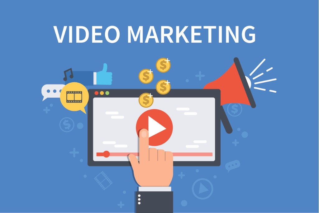 video-marketing-vector-id610758602